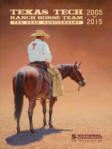 TTU Ranch Horse Poster